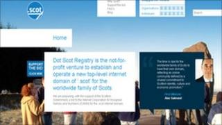 Dot Scot Registry website