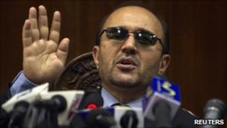 Central Bank chief Abdul Qadir Fitrat, file pic 2010