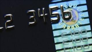 Cheque guarantee logo