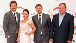 Game of Thrones stars Nicolaj Coster-Waldau, Emilia Clarke, Sean Bean and Mark Addy