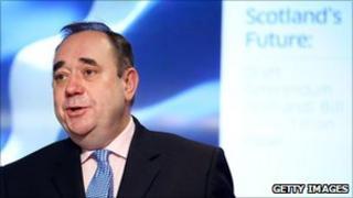 Alex Salmond, First Minister of Scotland
