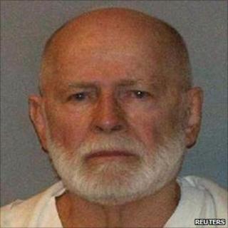 """Alleged gang boss James """"Whitey"""" Bulger"""