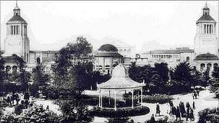 Newcastle's Exhibition Park in 1929