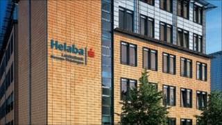 Helaba building in Erfurt