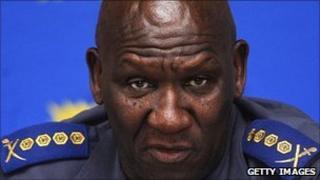 Police chief Bheki Cele