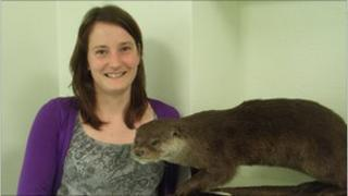 Eleanor Kean of Cardiff University Otter Project