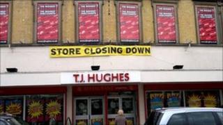 TJ Hughes in Liverpool