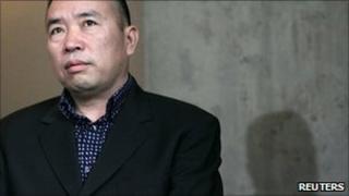 Chinese fugitive Lai Changxing, 2007 file photo