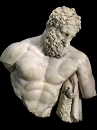 Weary Herakles. Courtesy of the Muesum of Fine Arts, Boston.