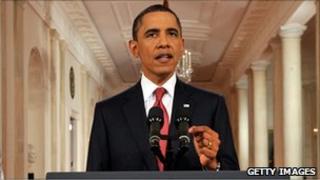 President Barack Obama's speech on 25 July