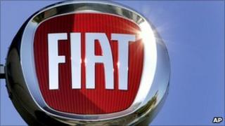 Fiat sign