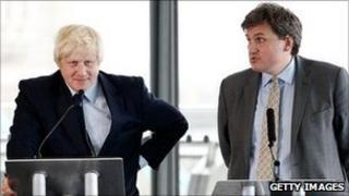 Boris Johnson and Kit Malthouse