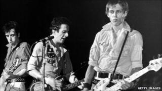 The Clash circa 1980