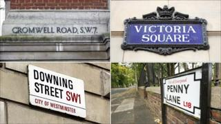 Places named after notables