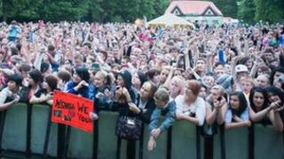 Youth Beatz crowd