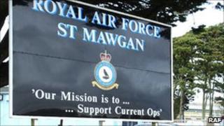 RAF St Mawgan