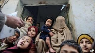 Polio awareness campaign in Pakistan