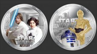 Star Wars coins