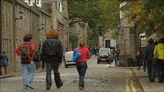 Students in Aberdeen