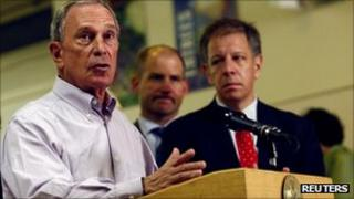 NY Mayor Bloomberg issues a press statement