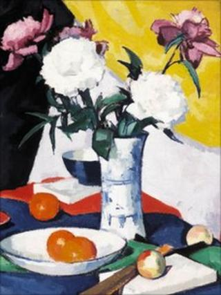 Samuel Peploe's Flowers and Fruit