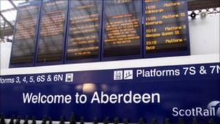Aberdeen railway station