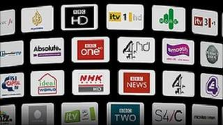 Channels offered on Freesat