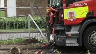 Broadmayne fire engine