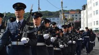 Guernsey's Own 201 Squadron's final parade