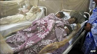 Dengue patients in Lahore