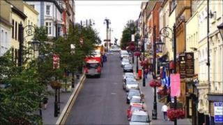 Shipquay Street Derry