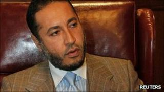 Saadi Gaddafi in 2010