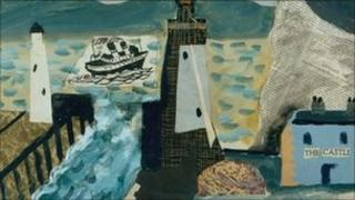 The Castle by John Piper