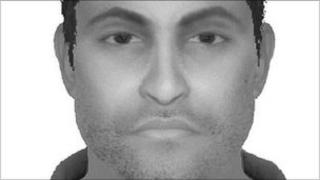 The suspect wanted for an assault on a girl at the London Mela in Gunnersbury Park
