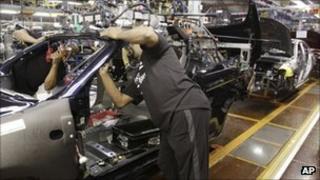 Chrysler factory in Michigan