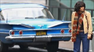 Halle Berry in Glasgow