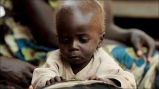 Infant in Uganda