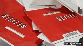 Netflix envelopes, Getty Images