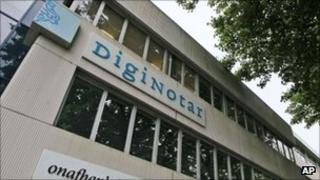 DigiNotar head office, AP