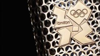 The London 2012 Olympic Torch