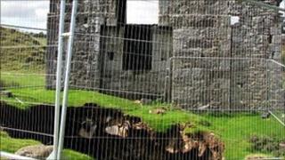 Wheal Jenkin mine shaft