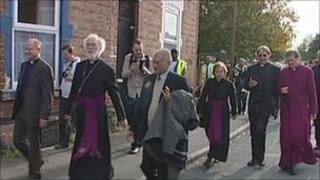 Rowan Williams in Derby