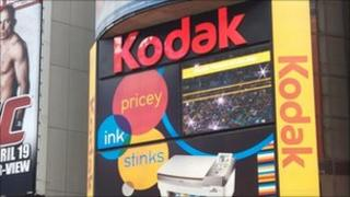 Kodak billboard Time Square