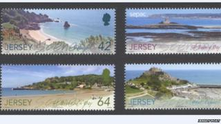 Jersey Post's new scenery stamps