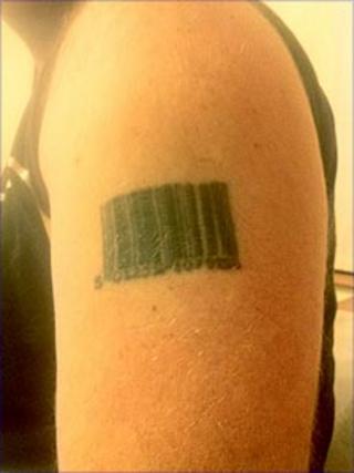 Bill Wignall's tattoo