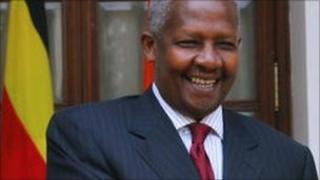 Uganda's Foreign Affairs Minister Sam Kutesa