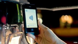 Paying for a taxi using your mobile phone
