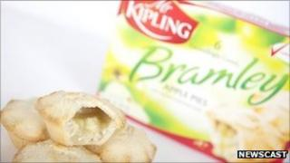 Mr Kipling Bramley apple pies