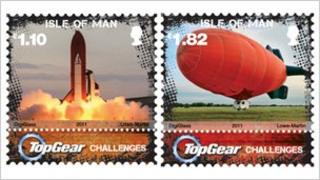Top Gear stamps