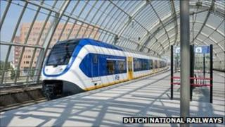 A Dutch Sprinter train (image: Dutch National Railways)